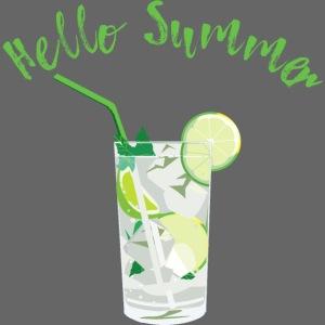 Summer Cocktail Drink Shirt Geschenk