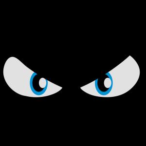 Augen böse gefährlich