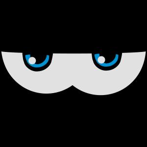 Augen comic witzig