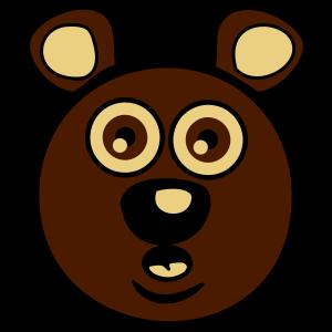 Bär witzig doof