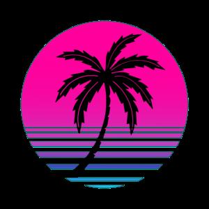 Sommer Retro Vintage 80's T-Shirt Geschenkidee