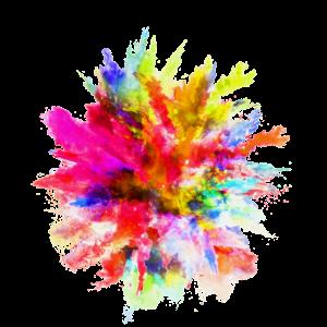 Wasserfarben Fleck