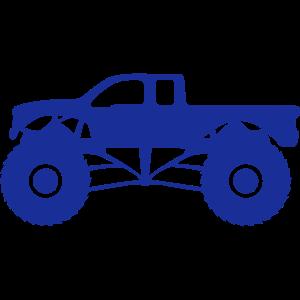 Monster Truck Truck Fahrzeug alles Gelände