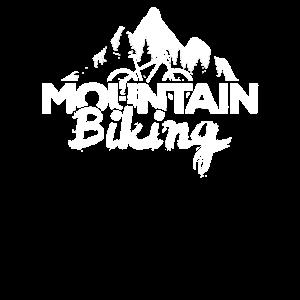 Mountainbike Outfit MTB Berge