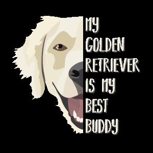 Bester Freund Golden Retriever