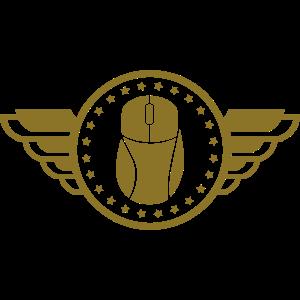 Gaming Emblem (Flügel) 02