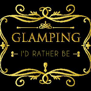 Glamping Luxus Camping Shirt