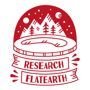 RESEARCH FLATEARTH VINTAGE LOGO Burgund