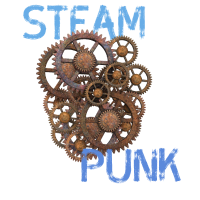 steampunk technik game retro nerd cpu pc zahnrad