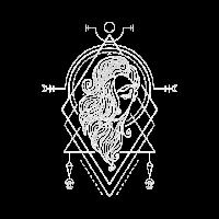 Horoskop Geometrisch Style