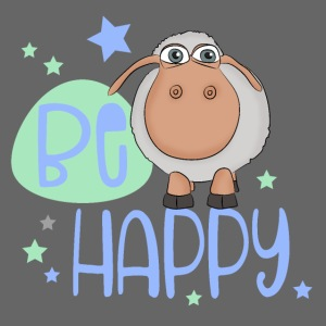 Be happy sheep - Happy sheep - lucky sheep
