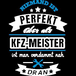 KFZ Meister Spruch Design