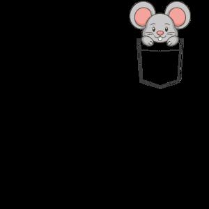 Maus in der Tasche