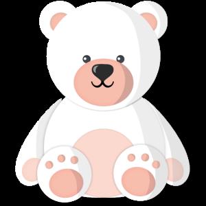 Cute Polar Baby Bear