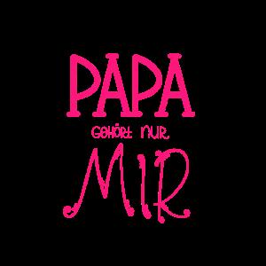 Papa gehört nur mir - Tshirt