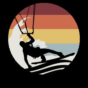 Kiteboarding Windsurfen Vintage