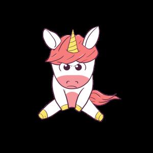 Angry Unicorn Wütendes Einhorn