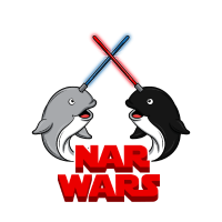 Bei Wars Parody Marina Säugetieren Narval Orca Geschenk
