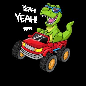 T-Rex Monstertruck Geschenk Tyrannosaurus Rex Auto
