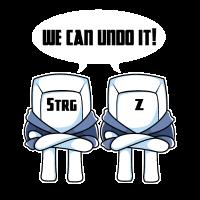 Strg + Z Nerdy Duo Paar