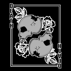 Death Card Skull