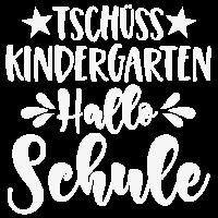 Tschüss Kindergarten Hallo Schule Spruch ws