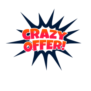 crazy offer - Verrücktes Angebot