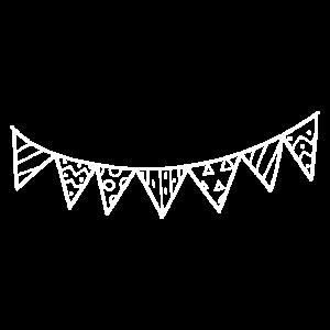 Party Feier Dekoration minimal minimalistisch