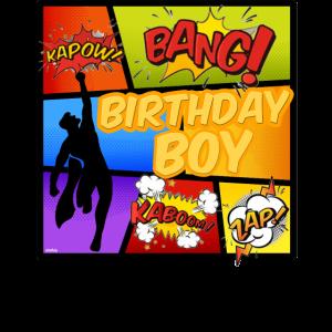 Superheld Geburtstag Comic