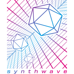 Synthwave Retrowave Outrun D20 Rollenspiel Gaming