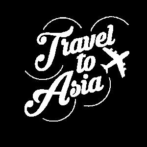 Reise nach Asien