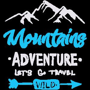 Berge, lass uns reisen gehen