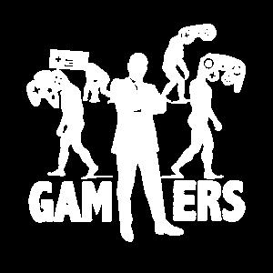 Gamer Evolution Gaming Entwicklung Zocker Zocken