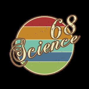 Science Retro Design Wissenschaft 68