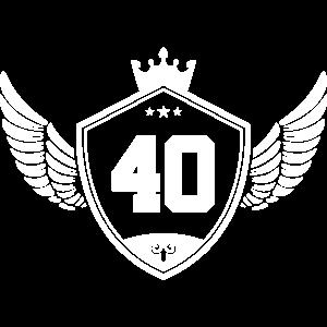 40 wappen krone