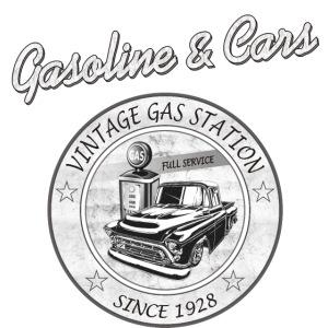 Vintage Tankstelle & Oldtimer
