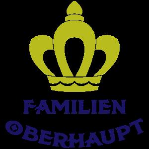 Familien Oberhaupt Krone Geschenk