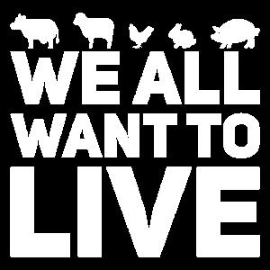 Tierschutz Animal Rights Vegan Spruch Geschenk