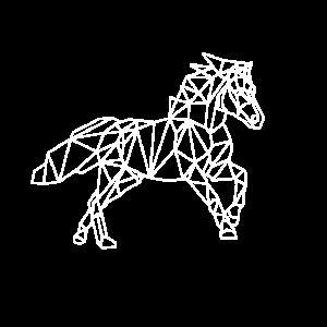 Pferd Galopp Reiten Umriss Hobby Geschenkidee