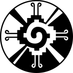 Hunab Ku Mayan Symbol