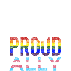 Proud ally Pride ally LGBTQ Ally Transsexuell