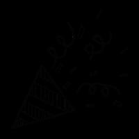 Party Konfetti Symbol