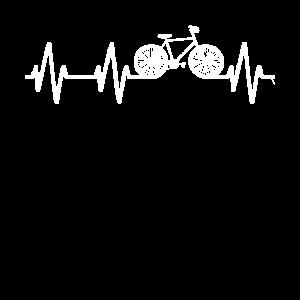 Fahrradfahren Fahrrad Herzschlag Lustig