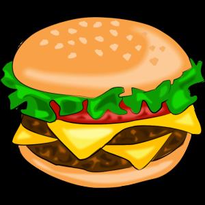 hamburger speise fast food