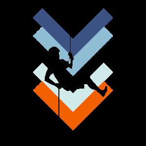 Bergsport Felsklettern