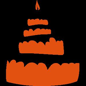 Kerzengeburtstagstorte 16