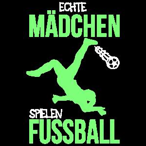 Echte Mädchen Spielen Fussball Frauenfußball