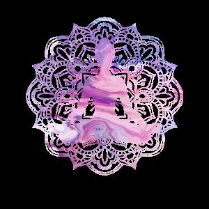 Yoga Frau sitzend