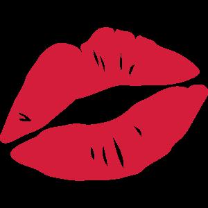Kussmund, Kuss, Mund, Lippen, Liebe, Valentinstag