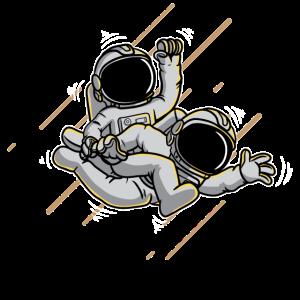 Lustige Astronauten Geschenk Shirt